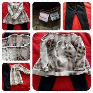 Hanna Andersson Toddler Gir Outfit